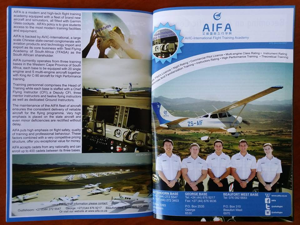 Featured in the African Pilot Magazine!